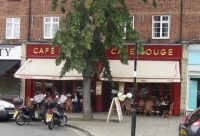 SUPPER IN CAFE ROUGE, SOUTHGATE