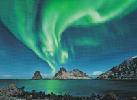 NORTHERN LIGHTS,  VESTERALEN ISLANDS